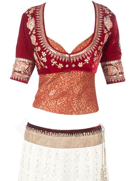 Top latest blouse designs for party wear health tips health tips