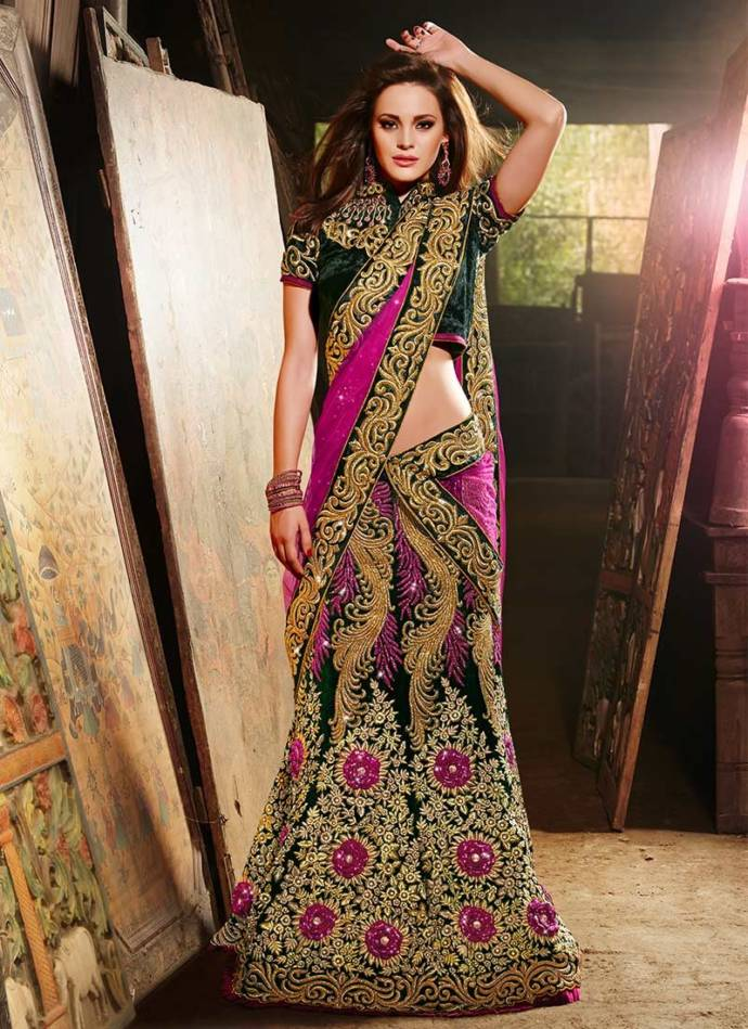 Lengha choli fashion dress 68
