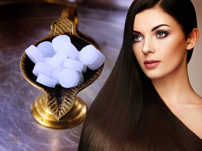 how to use camphor for hair and skin care - home remedies