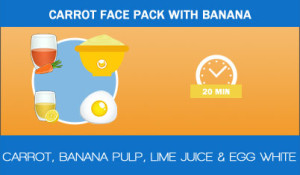 Carrot-face-pack-with-banana