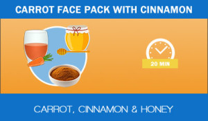 Carrot-face-pack-with-cinnamon