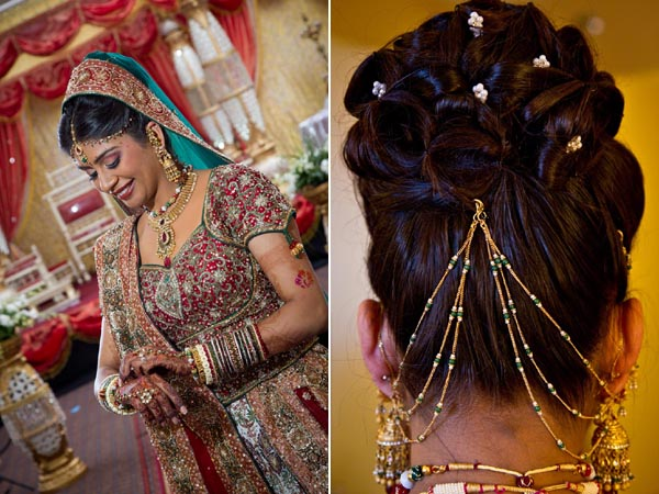 Pleasant Latest Bridal Hairstyles For Wedding Sarees Indian Hairstyles Short Hairstyles For Black Women Fulllsitofus