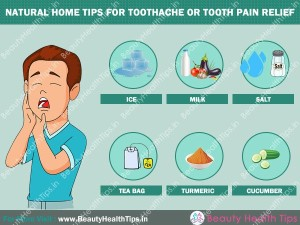 Natural Home Tips For Toothache Or Tooth Pain Relief