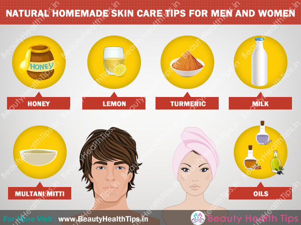 Natural homemade skin care tips for men and women | Beauty ...