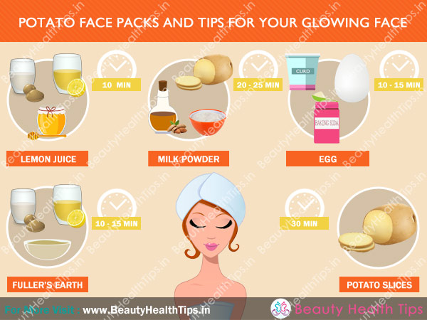 Potato Face Packs And Tips For Your Glowing Face Beauty