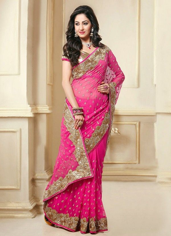 Image result for wearing saree different styles photo