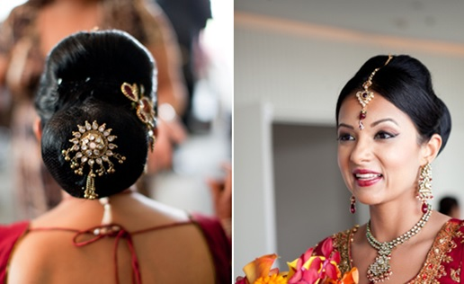 Groovy Latest Bridal Hairstyles For Wedding Sarees Indian Hairstyles Short Hairstyles Gunalazisus