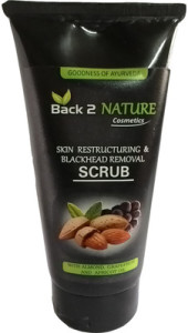 Back2 nature skin restructuring + blackheads removal scrub