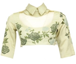 Blouse design for collar neck 8