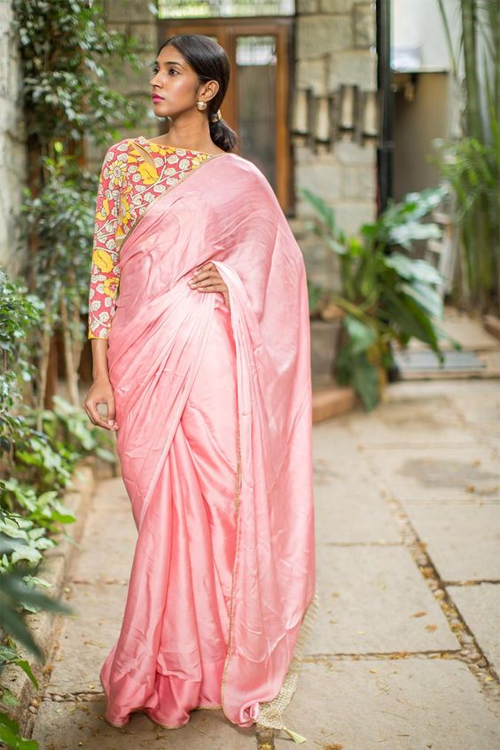 Blouse designs for plain sari