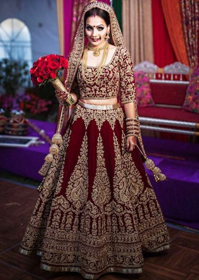 Heavy work bridal choli blouse