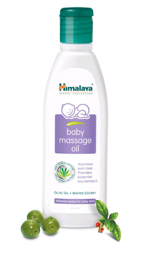 Himalaya herbals baby massage oil