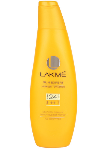 Lakme sun expert Fairness body sunscreen lotion SPF 24 pa++