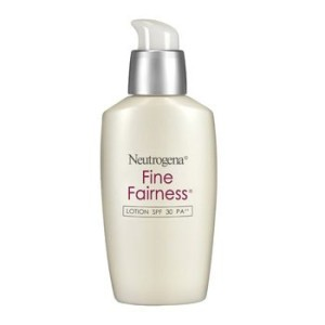 Neutrogena Fine fairness lotion SPF 30 PA ++
