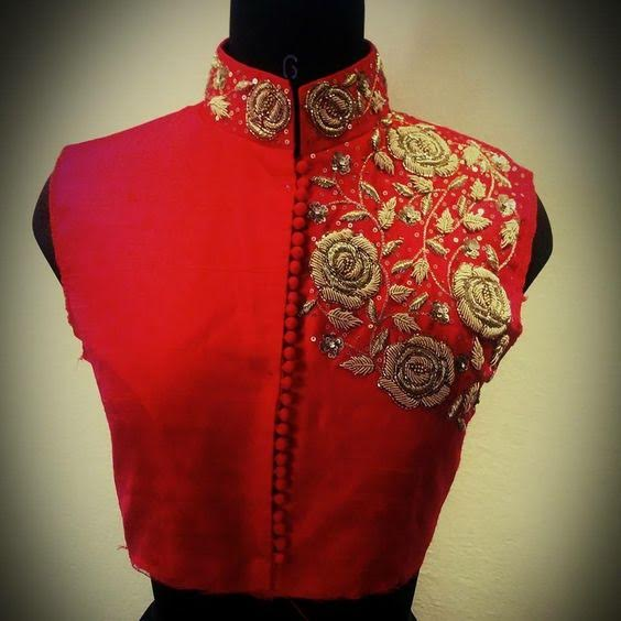 red-sleeveless-blouse-with-collar