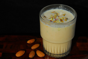 The Popular Summer Badam Drink