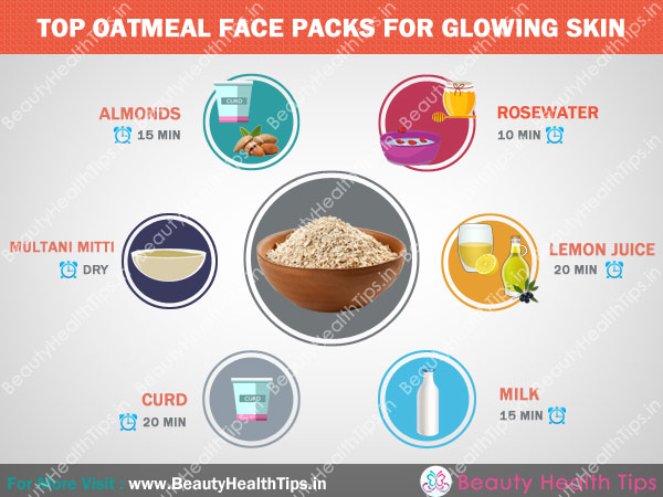 Top Oatmeal Face Packs For Glowing Skin