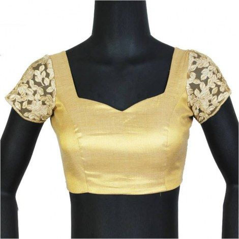 Top blouse design with lace # 9