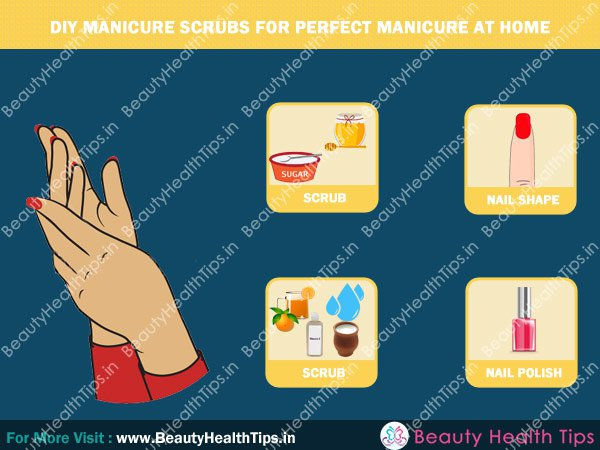 how to do pedicure and manicure at home in tamil