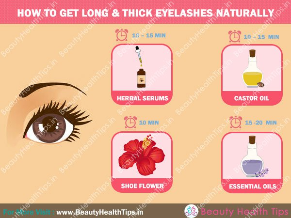 How To Get Long Black Eyelashes Naturally