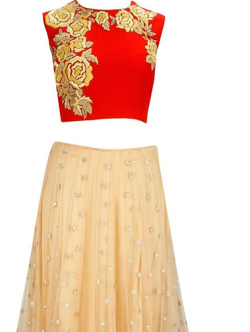 Latest blouse design for ghagra 16