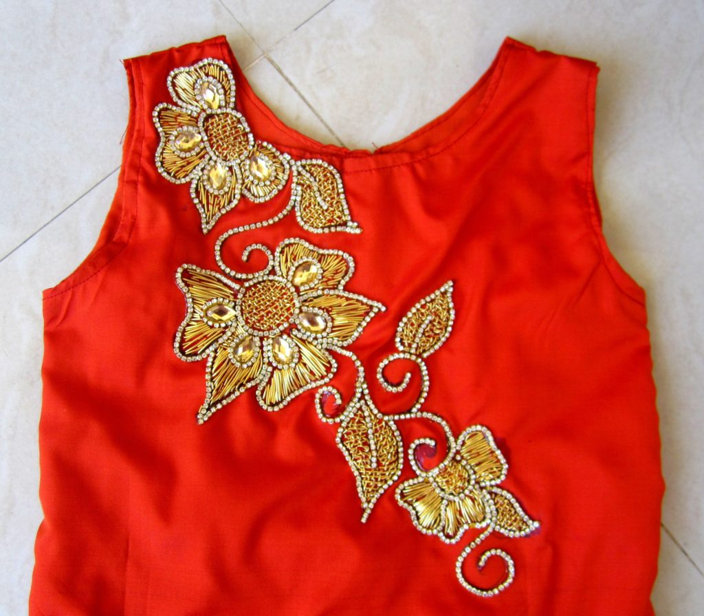 red-boat-neck-zardousi-blouse