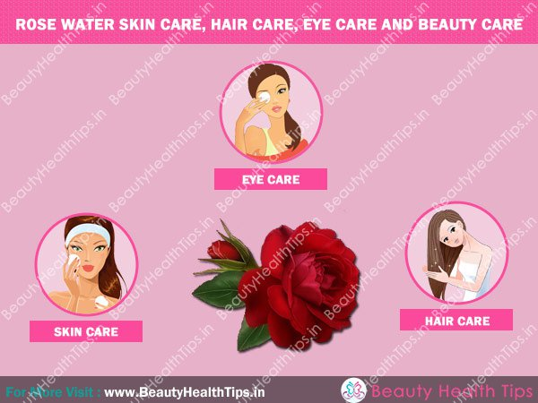 Popular benefits of rose water for skin hair eye and - Easy Half Up Half Down Hairstyles