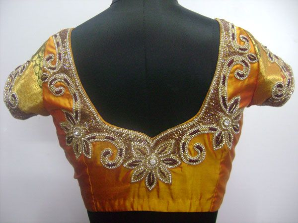 Zardousi blouse design