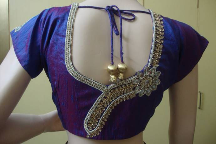 kundan-work-bridal-blouse