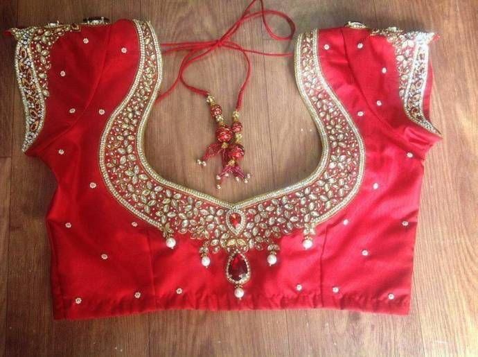 red-blouse