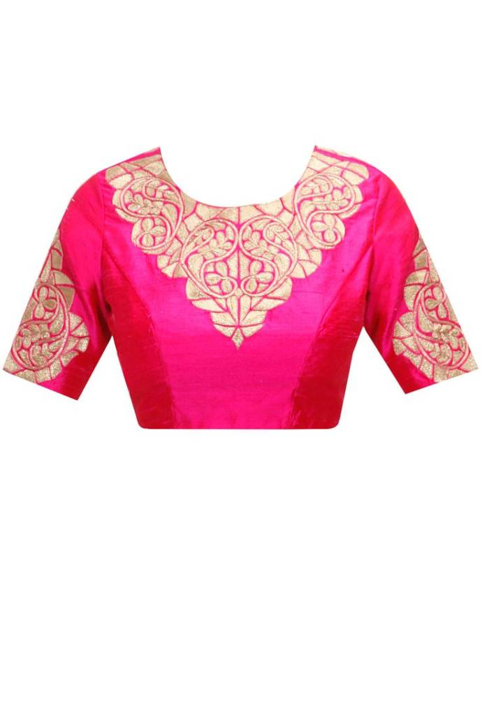 Latest blouse design for party wear