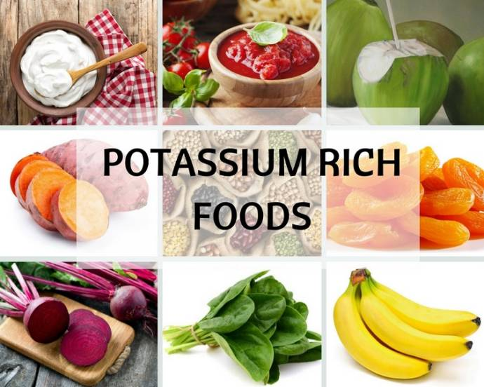 Potassium Rich Food Sources - Signs Of Potassium Deficiency
