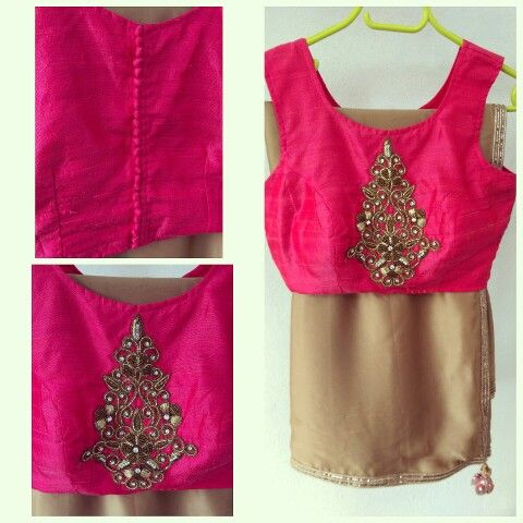 Work blouse design for party