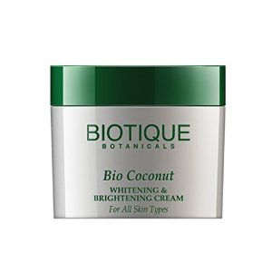 Biotique Bio coconut whitening & brightening cream for all skin types