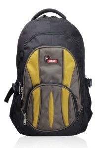 F gear Audios Black Mustard Backpack