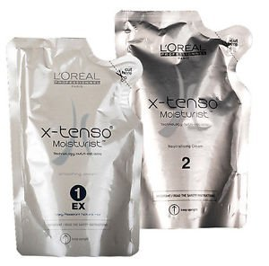 L'Oreal X-Tenso Straightening hair cream (Very resistant natural hair)