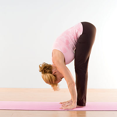 Standing Forward Bend Yoga(1)