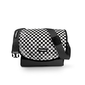 Tagger crew messenger laptop bag black – Checkers