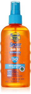 Banana Boat QuikDri Sport Body & Scalp Spray Sunscreen Spf 30