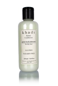 Khadi herbal green tea and Aloe Vera hair conditioner SLS and Paraben free