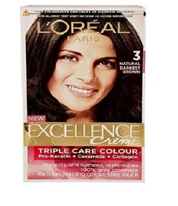 L'Oreal Paris darkest brown hair color