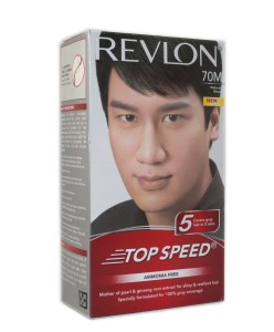 Revlon top speed hair color man, natural black