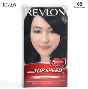 Revlon top speed hair color woman, brownish black
