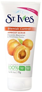 St. Ives blemish and blackhead control apricot scrub