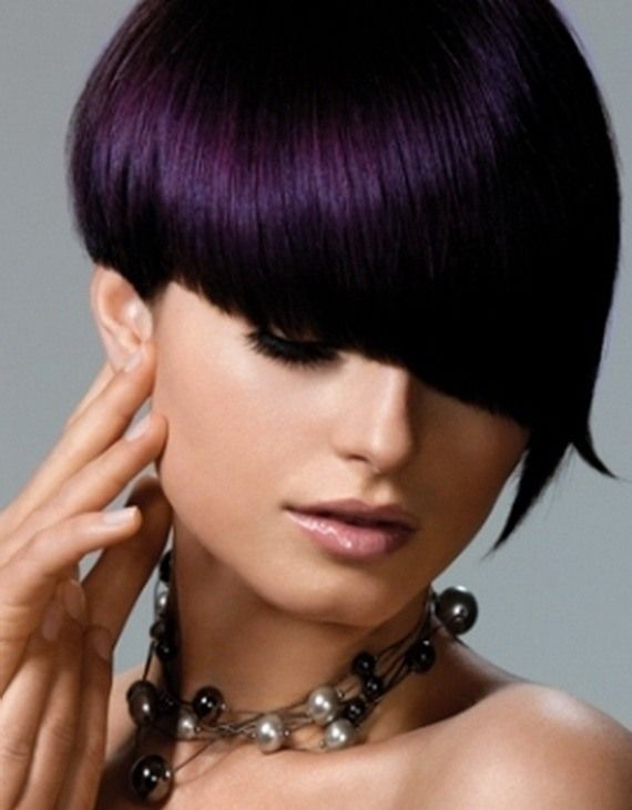 Best Hairstyle Ideas For Short Length Black Hairstyles With Plum