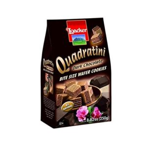 2. Quadratini dark chocolate