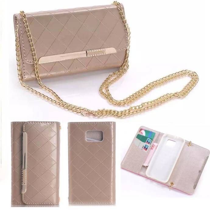 Addigital Luxury PU Wallet Leather Case Cover