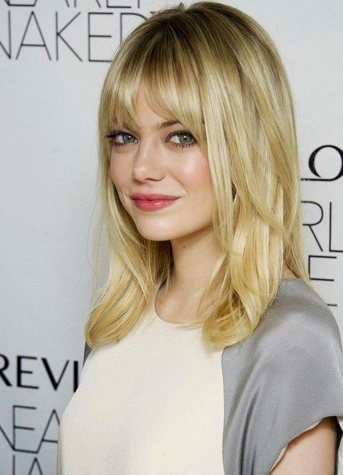 Blonde hair with dark highlights