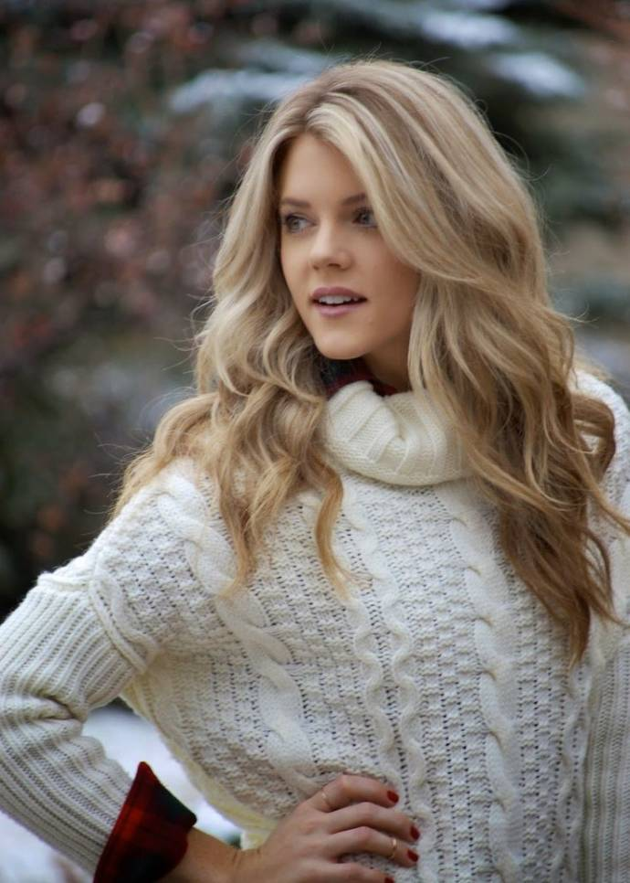 Blonde waves for winter
