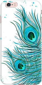 DailyObjects Peacock Feather Mint Case For iPhone 6s Plus